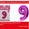 Globo Número 9 Rosa 40 Pulgadas