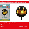 Globo Redondo De Corona 18 Pulgadas