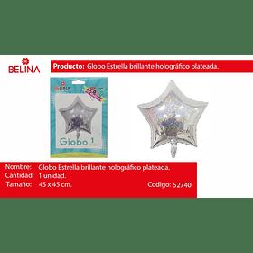Globo estrella tornasol 45*45cm