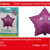 Globo Estrella Tornasol 45x45cm