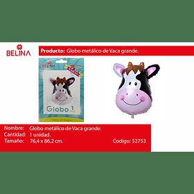 Globo metalico vaca 76,4*86,2cm