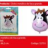 Globo Metalico Vaca 76,4x86,2cm
