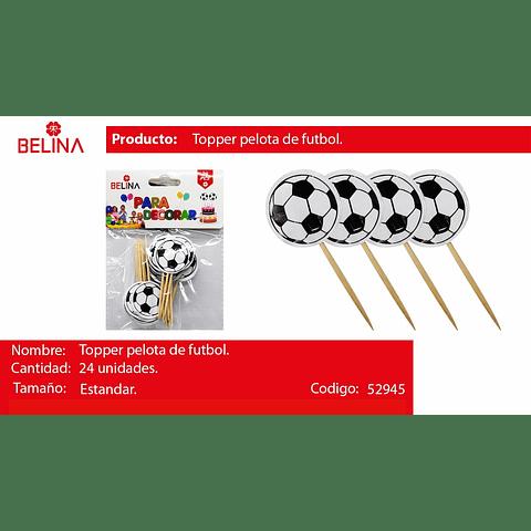 Topper Balon De Futboll
