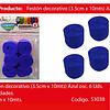 Feston Grueso Azul 6pcs 3.5x10m