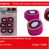 Feston Fino De Colores 6pcs