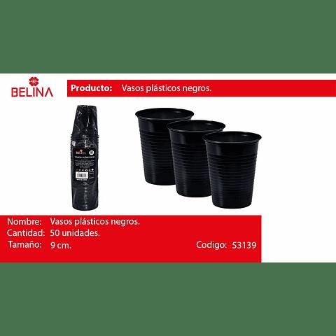 Vaso Plastico 250cc Negro