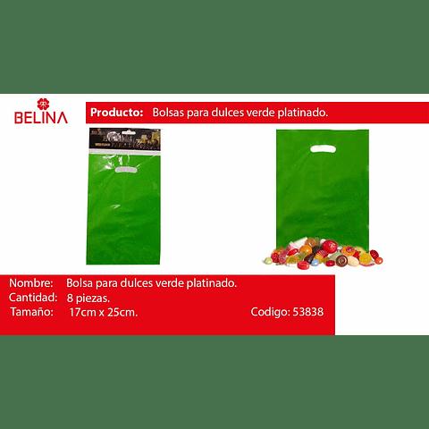 Bolsas Metalicas 8pcs Verde