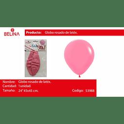"Globo rosa pastel 24"" 45cm*45cm 1pcs"