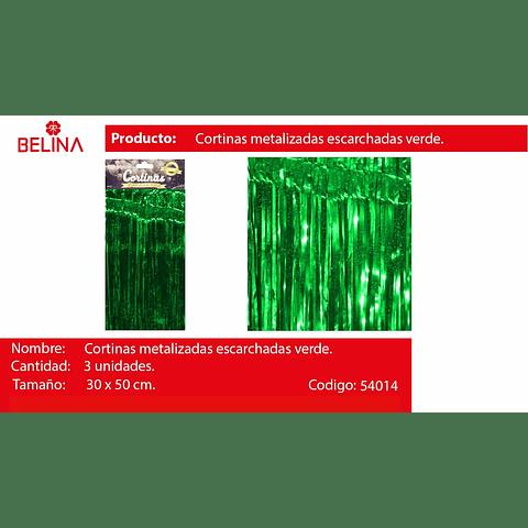 Cortina Para Mesa Verde Tornasol 3pcs 30x50cm