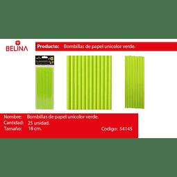 Bombillas verde 25pcs