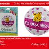 Globo Redondo Rosa Es Una Niña 45cm