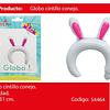 Globo cintillo conejo 1pcs 29x31cm