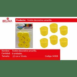 Feston fino amarillo
