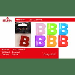 Letra led b