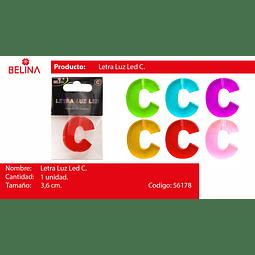 Letra led c