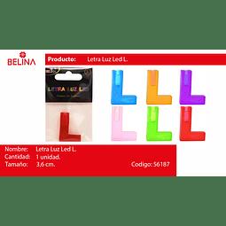 Letra led l