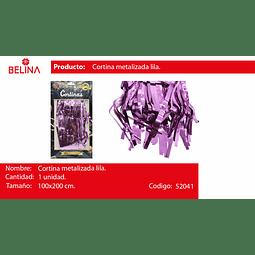 Cortinas metalicas 2m lila