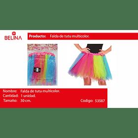 Tutu multicolor 30cm