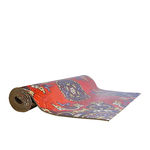 Mat Yoga Diseño Rojo 5mm