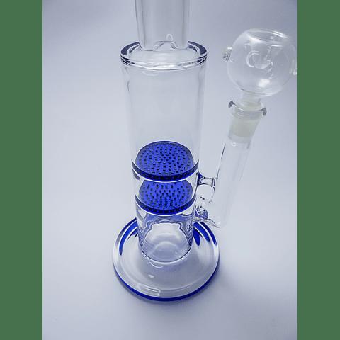 Bong Azul 34cm dos filtro honey