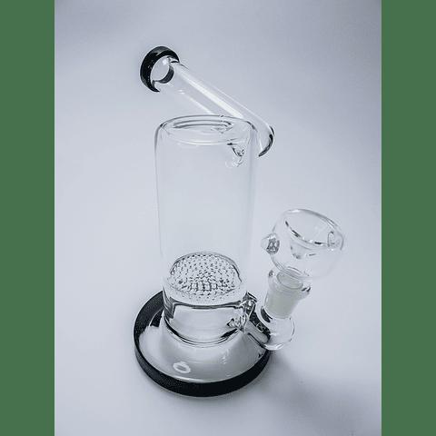 Bong negro arqueo 18cm filtro honey