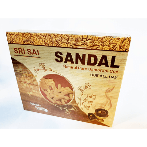 Sahumerio Sandalo Sri Sai 15 unidaes