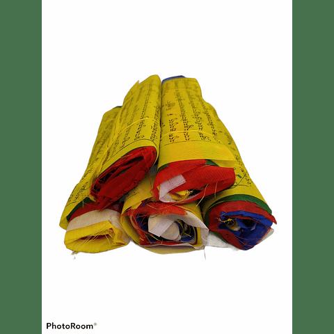 Banderas Tibetanas 3 Metros De Largo