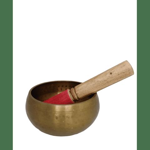 Cuenco de bronce pulido 12 cm
