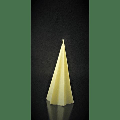 Vela de soya starry pyramid 11 CM