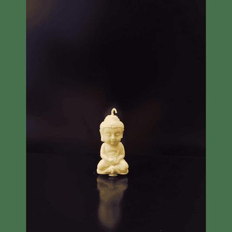 Vela de soya vegetal mini buda 7 CM
