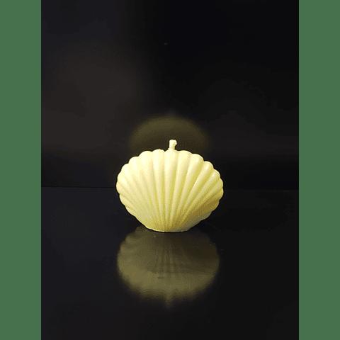 Vela de soya shell 7 cm