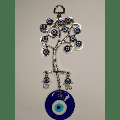 Colgante ojo turco Árbol de la vida 19,5 CM