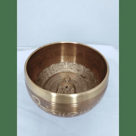 Cuenco tibetano 7 metales 10x6,4 CM