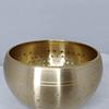 Cuenco tibetano pulido 7 metales 9,6 x 6 diámetro.