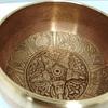 Cuenco tibetano 7 metales 11x7,5 diámetro.