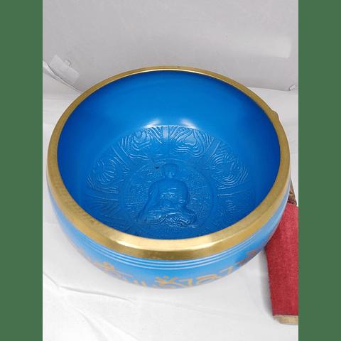 Cuenco tibetano 7 metales 15x8 diámetro