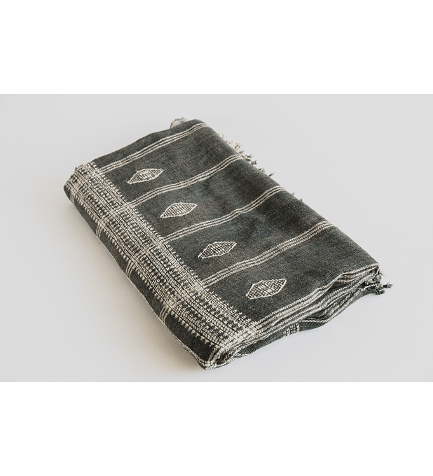Indian Wool Blanket Olive