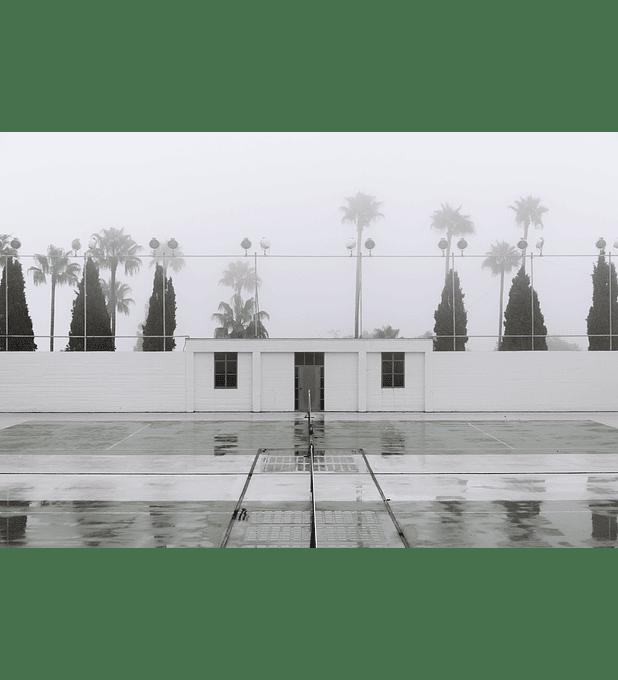Cancha de tenis en Hearst Castle, California