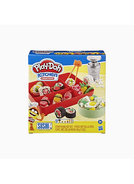 HASBRO E7915 PLAY-DOH KITCHEN CREATIONS SUSHI