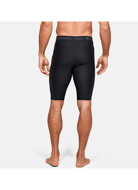 UA 1351531-001 Project Rock Shorts-BLK