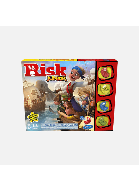 HASBRO E6936 RISK JUNIOR