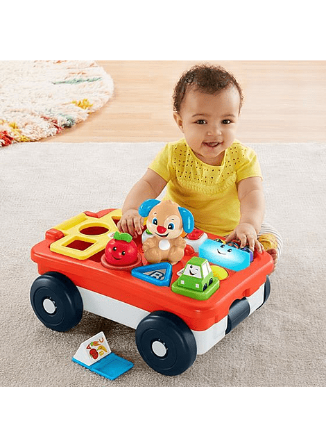 MATTEL GHV19 PULL & PLAY LEARNING WAGON
