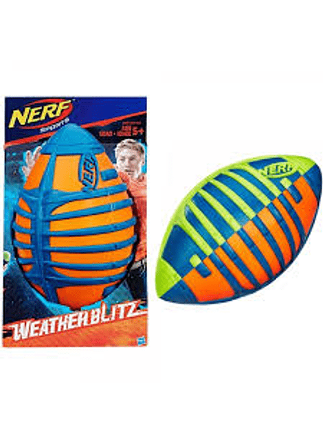 HASBRO A0361 NERF SPORTS WEATHER FOOTBALL
