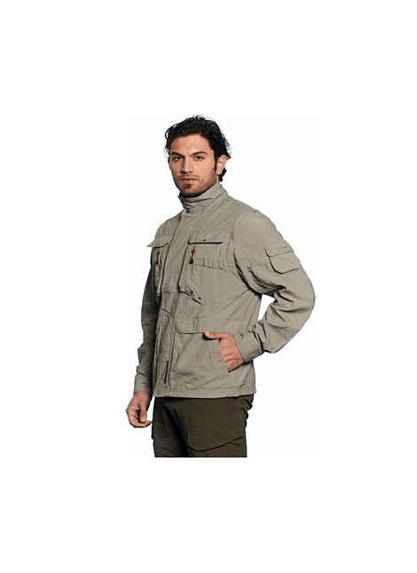 NORTHLAND 02-026088 CHAQUETA HOMBRE PRO DRY TRAIL TAUPE