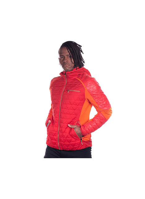 NORTHLAND 02-0801935 PARKA HOMBRE SEAN MICROLOFT FIRE RED