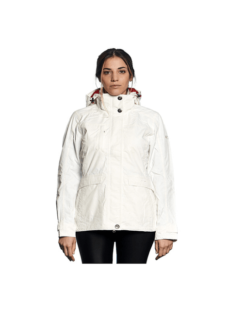 NORTHLAND 02-0424116 PARKA MUJER EXO LXT SUSA WHITE