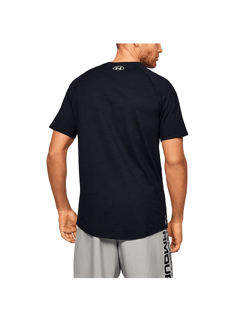 Polera Under Armour UA Charged Cotton SS 1351570-001