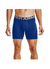 PACK DE 3 BOXER HOMBRE UA Charged Cotton 6in 3 Pack 1363617-400