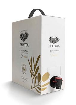 ACEITE DELEYDA OLIVA DE 5 LITROS Premium Bag In Box.