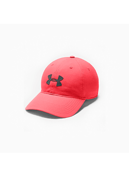 UA 1351409-820 JOCKEY Men's Baseline Cap-RED